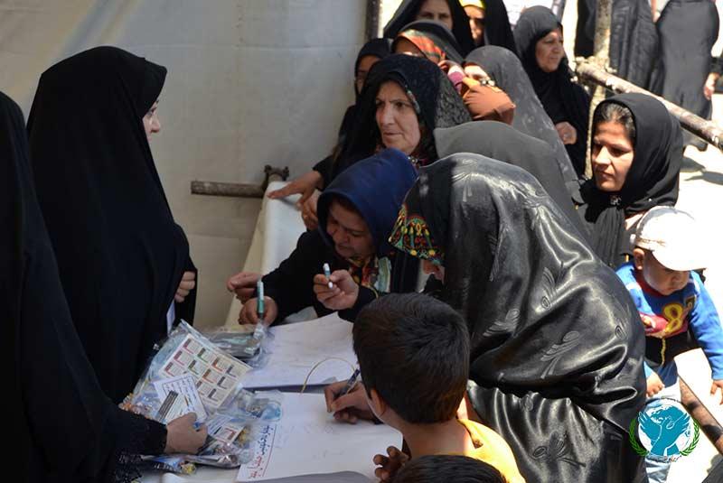 طومار مردمی 40 متری موسسه بین المللی صلح محکومیت آل سعود