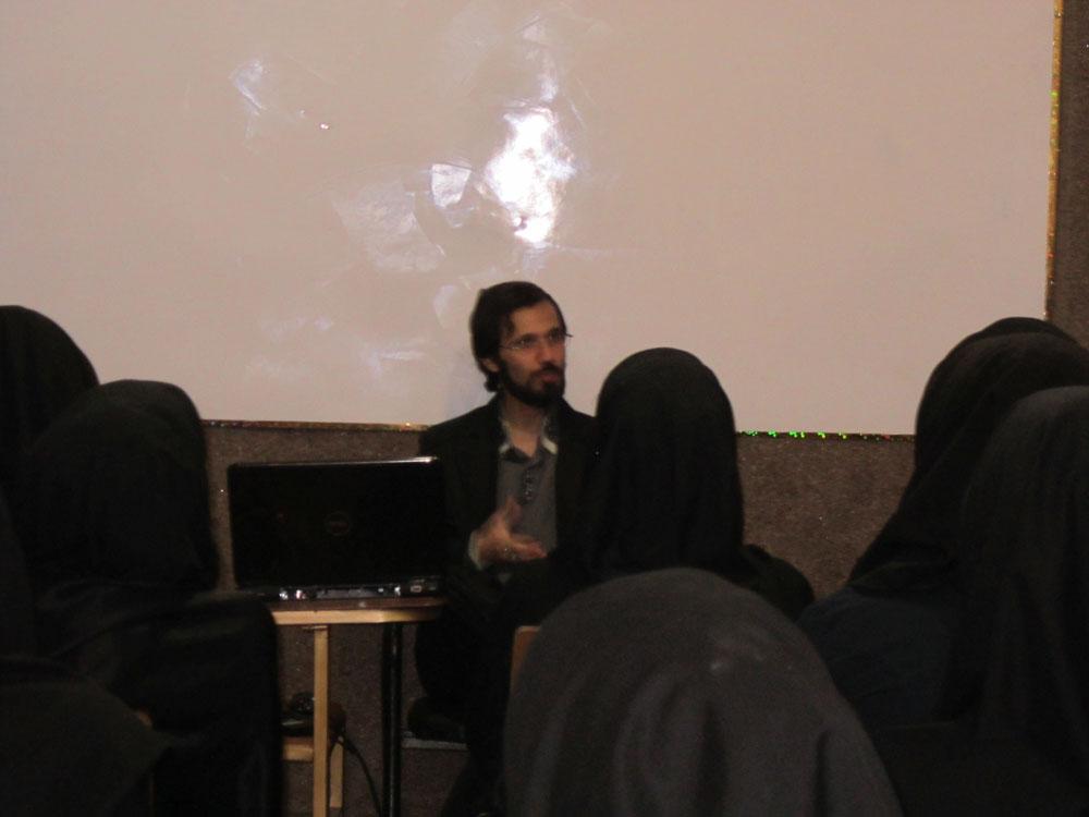 جلسه با دانش آموزان سال 1388
