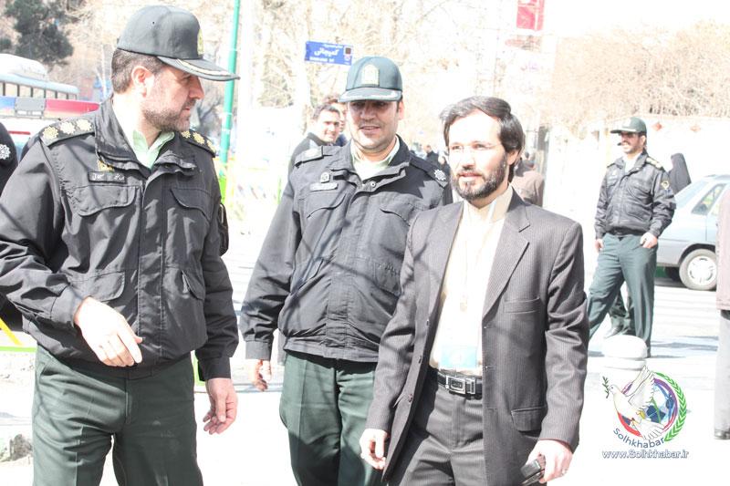 مهندس حسینی حضور پرشور در انتخابات هفتم اسفند ماه 94