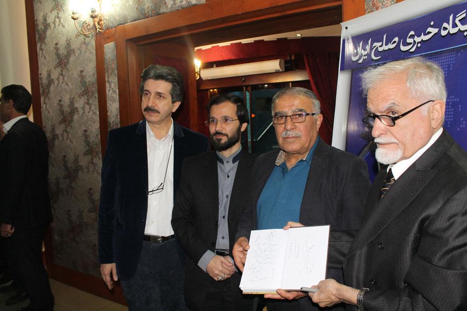 مهندس حسینی و حسن روشن کاپیتان سابق تیم ملی فوتبال