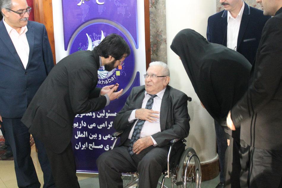 مهندس حسینی و پرفسور حیدری پدر علم مذاکره ایران