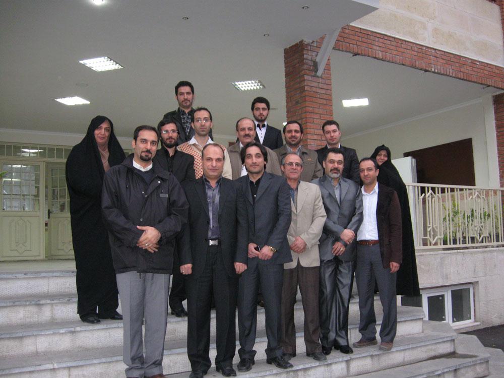 جلسه هم اندیشی اساتید و مدرسان سال 1390 مهندس حسینی