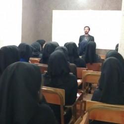 جلسه با دانش آموزان سال 1391 مهندس حسینی