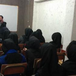 جلسه با دانش آموزان سال 1392