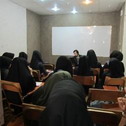 جلسه با دانش آموزان سال 1390 مهندس حسینی
