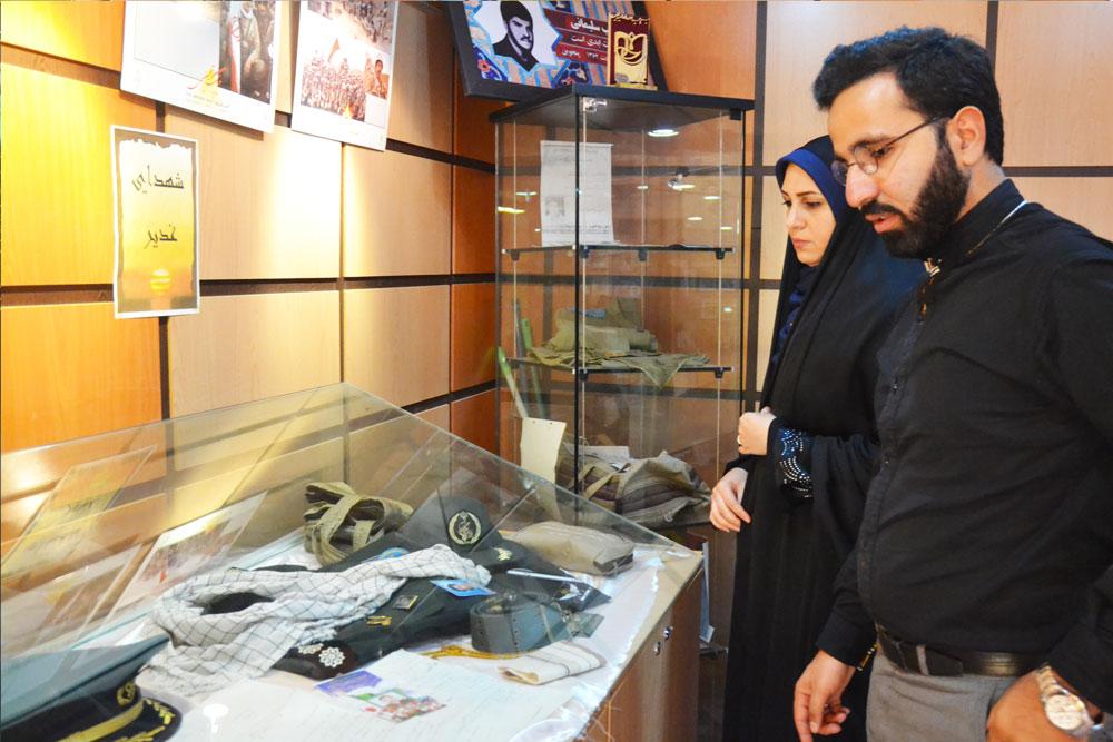 گزارش تصویری بازدید موسسه بین المللی صلح از موزه شهدا