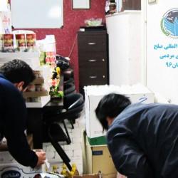 گزارش ارسال کمک های مردمی برای زلزله زدگان